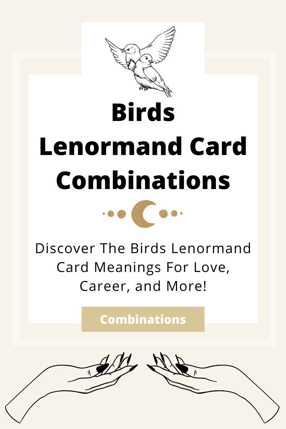 Learn the beginner Birds Lenormand Card combinations for general readings, love, business, career and more! Learn how to combine the Birds card with the Diviners Lenormand deck.