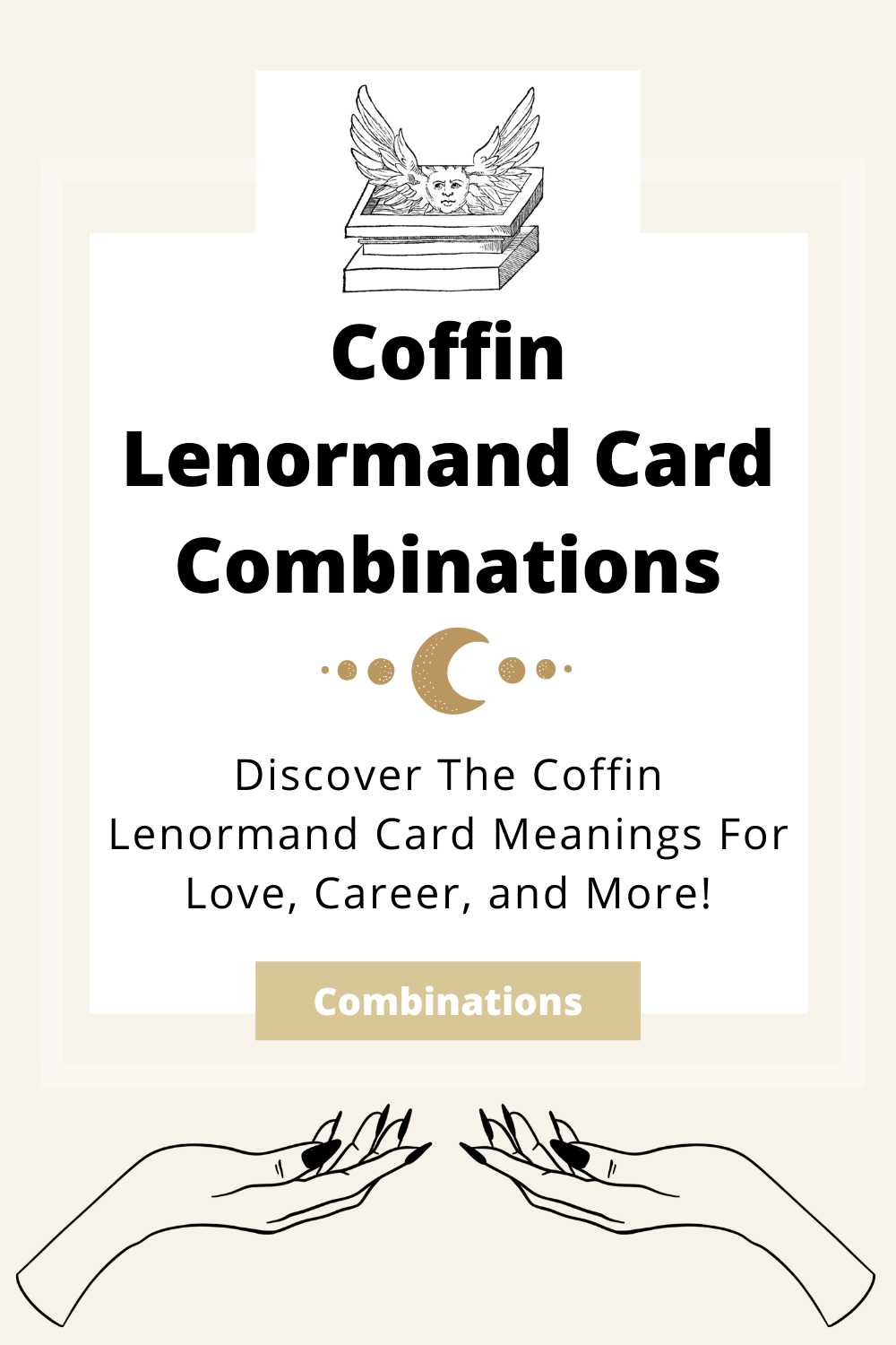 Learn the beginner Coffin Lenormand Card combinations for general readings, love, business, career and more! Learn how to combine the Coffin card with the Diviners Lenormand deck.