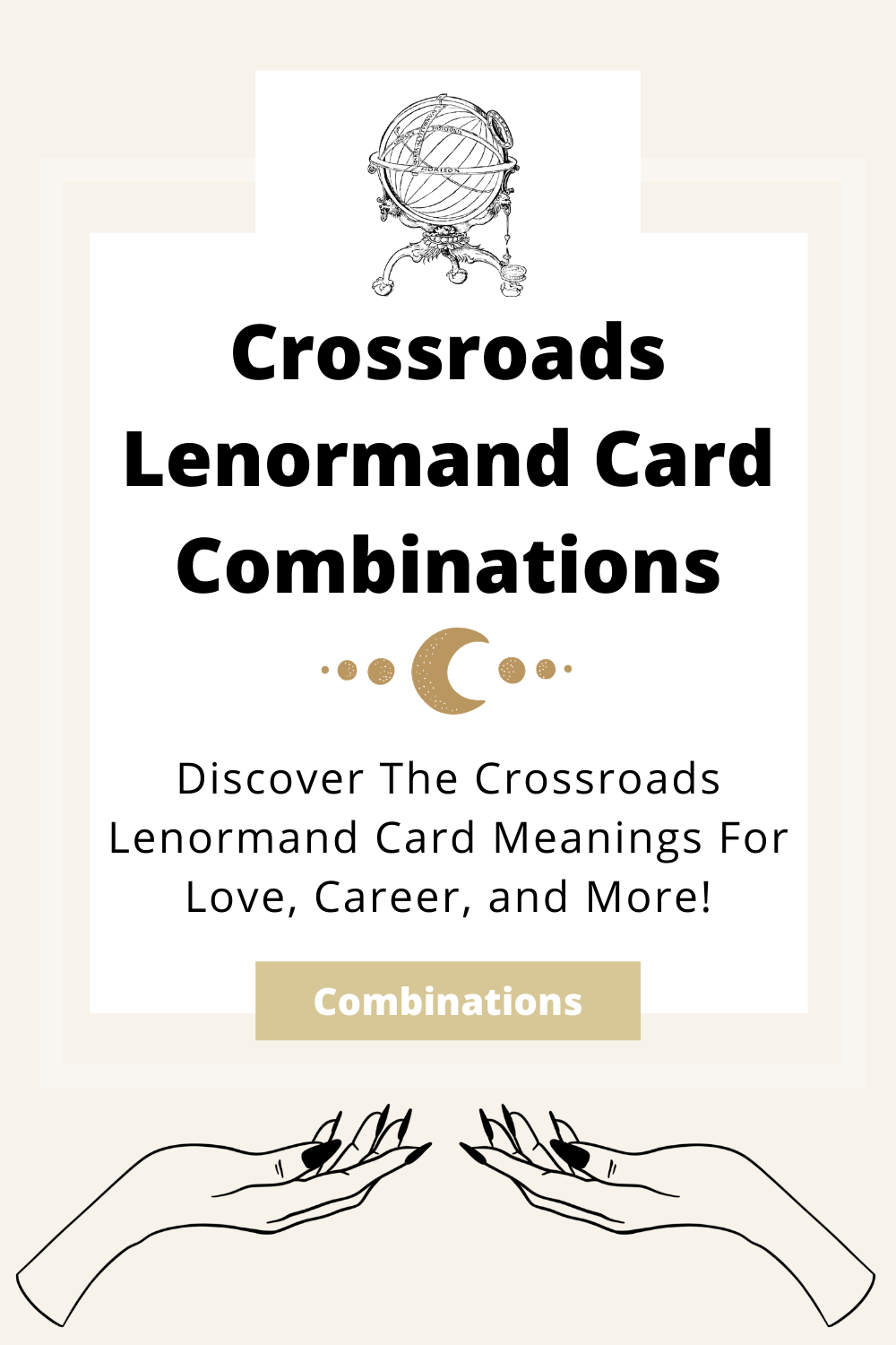 Learn the beginner Crossroads Lenormand Card combinations for general readings, love, business, career and more! Learn how to combine the Crossroads card with the Diviners Lenormand deck.