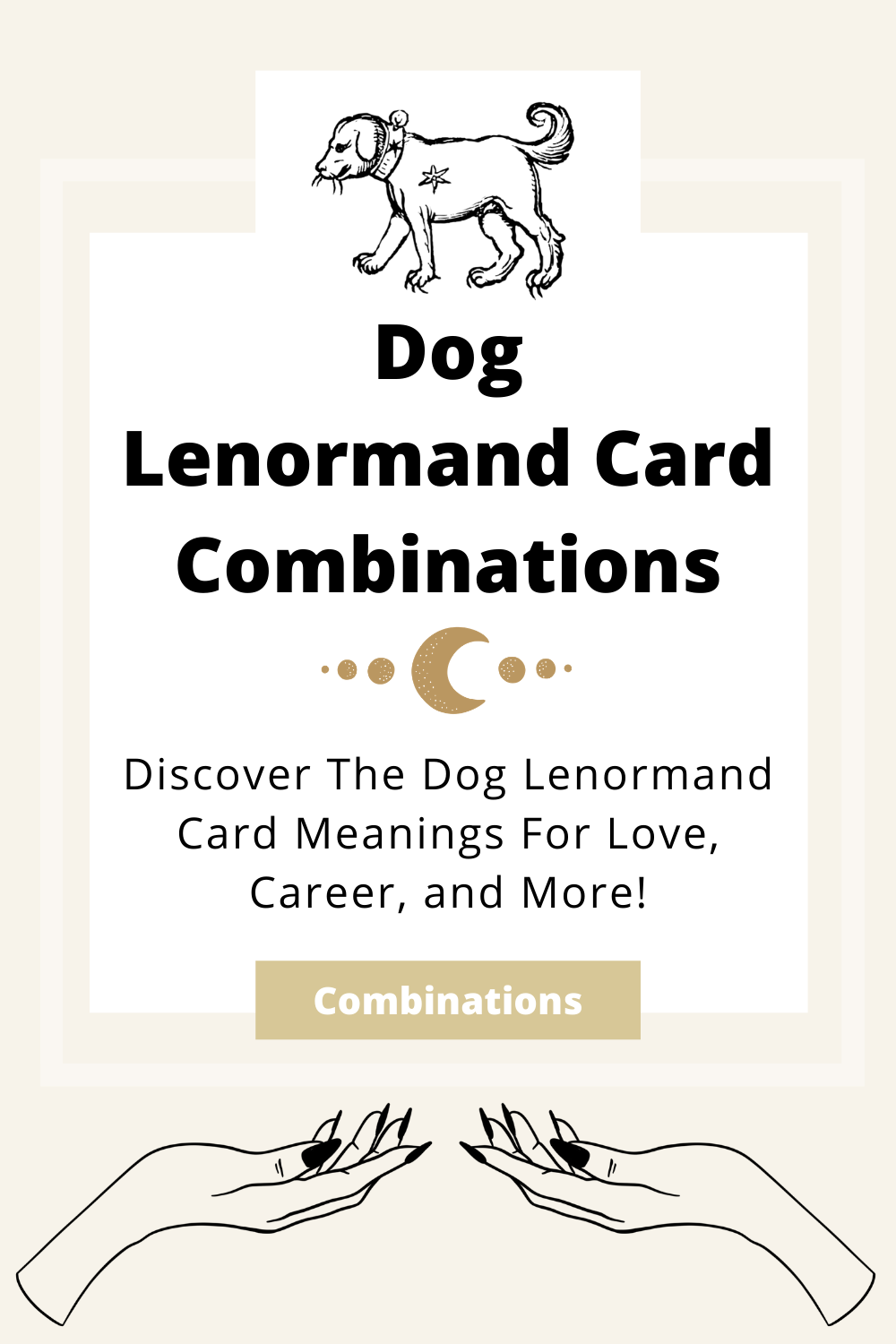 Learn the beginner Dog Lenormand Card combinations for general readings, love, business, career and more! Learn how to combine the Dog card with the Diviners Lenormand deck.