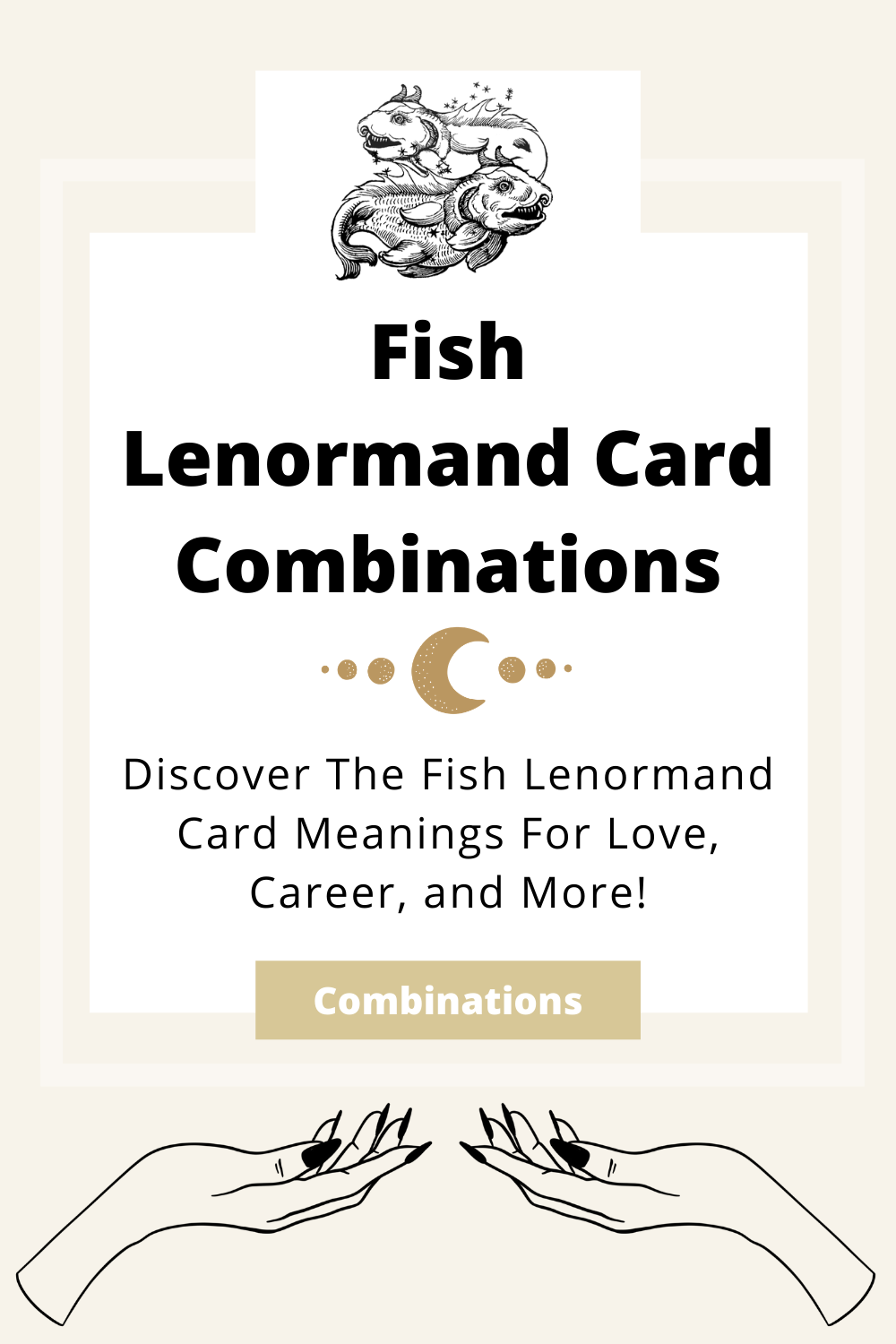 Learn the beginner Fish Lenormand Card combinations for general readings, love, business, career and more! Learn how to combine the Fish card with the Diviners Lenormand deck.