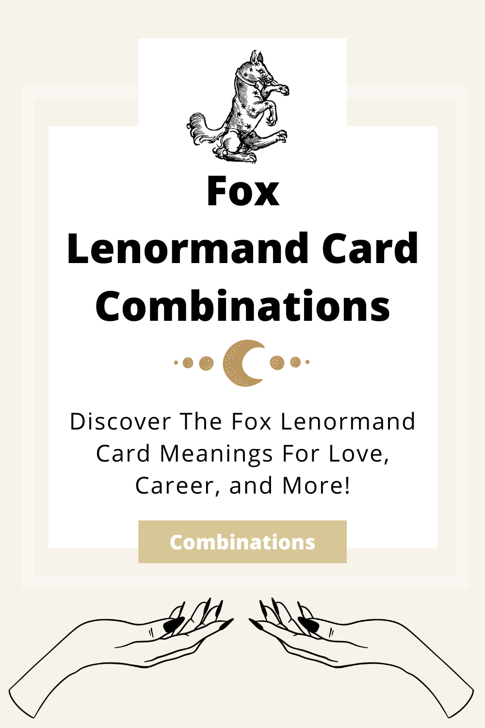 Learn the beginner Fox Lenormand Card combinations for general readings, love, business, career and more! Learn how to combine the Fox card with the Diviners Lenormand deck.