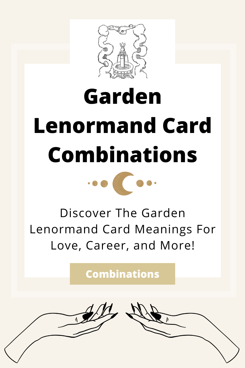 Learn the beginner Garden Lenormand Card combinations for general readings, love, business, career and more! Learn how to combine the Garden card with the Diviners Lenormand deck.