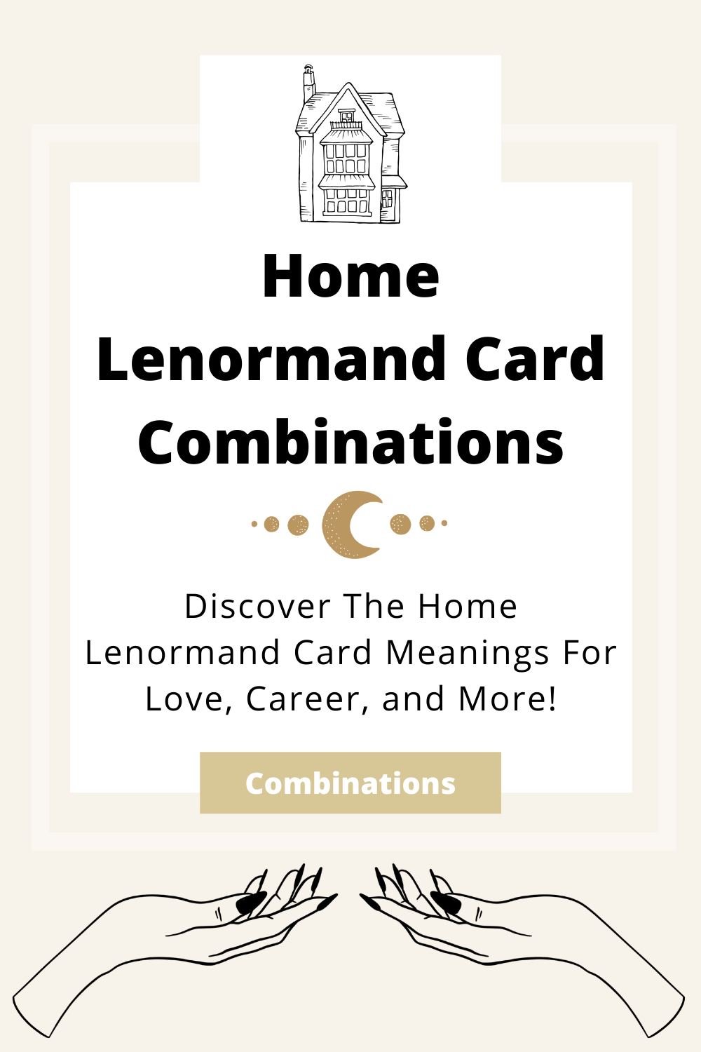 Learn the beginner Home Lenormand Card combinations for general readings, love, business, career and more! Learn how to combine the Home card with the Diviners Lenormand deck.