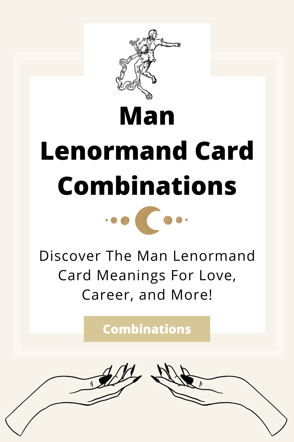Learn the beginner Man Lenormand Card combinations for general readings, love, business, career and more! Learn how to combine the Man card with the Diviners Lenormand deck.