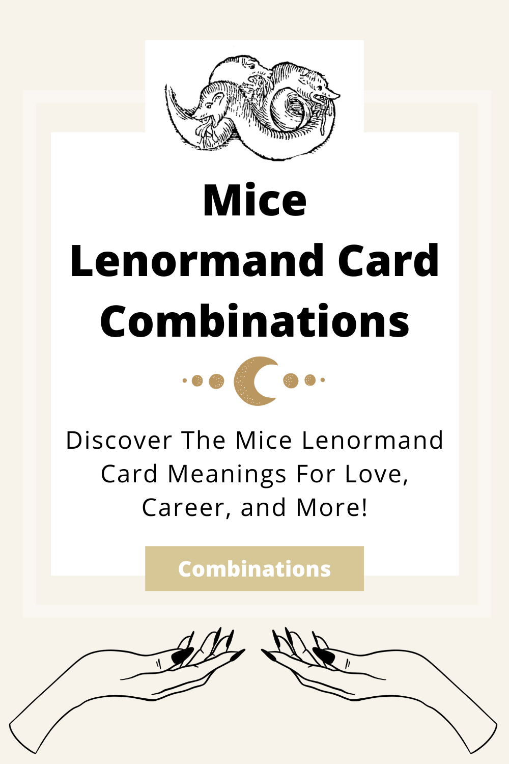 Learn the beginner Mice Lenormand Card combinations for general readings, love, business, career and more! Learn how to combine the Mice card with the Diviners Lenormand deck.