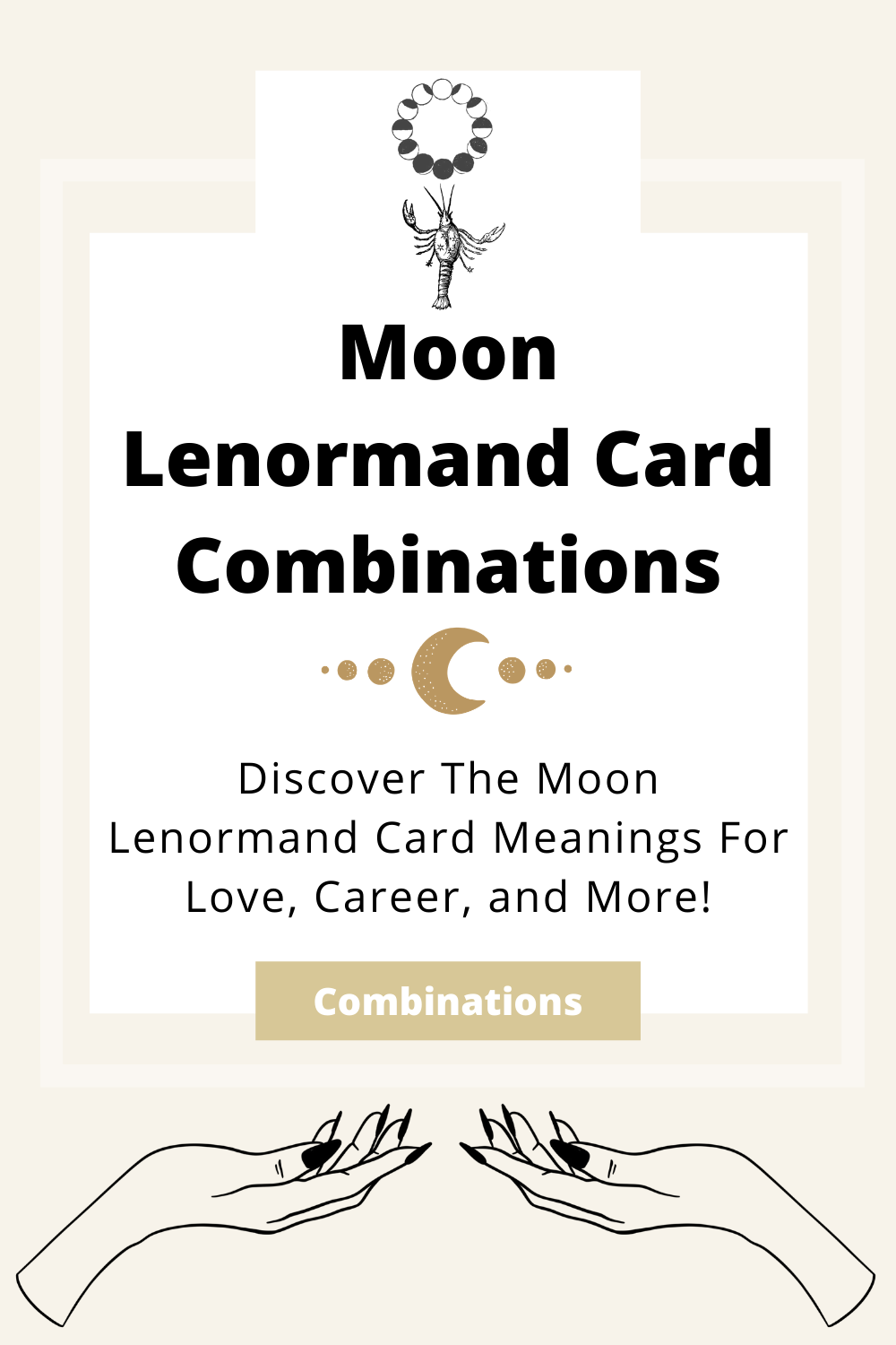 Learn the beginner Moon Lenormand Card combinations for general readings, love, business, career and more! Learn how to combine the Moon card with the Diviners Lenormand deck.
