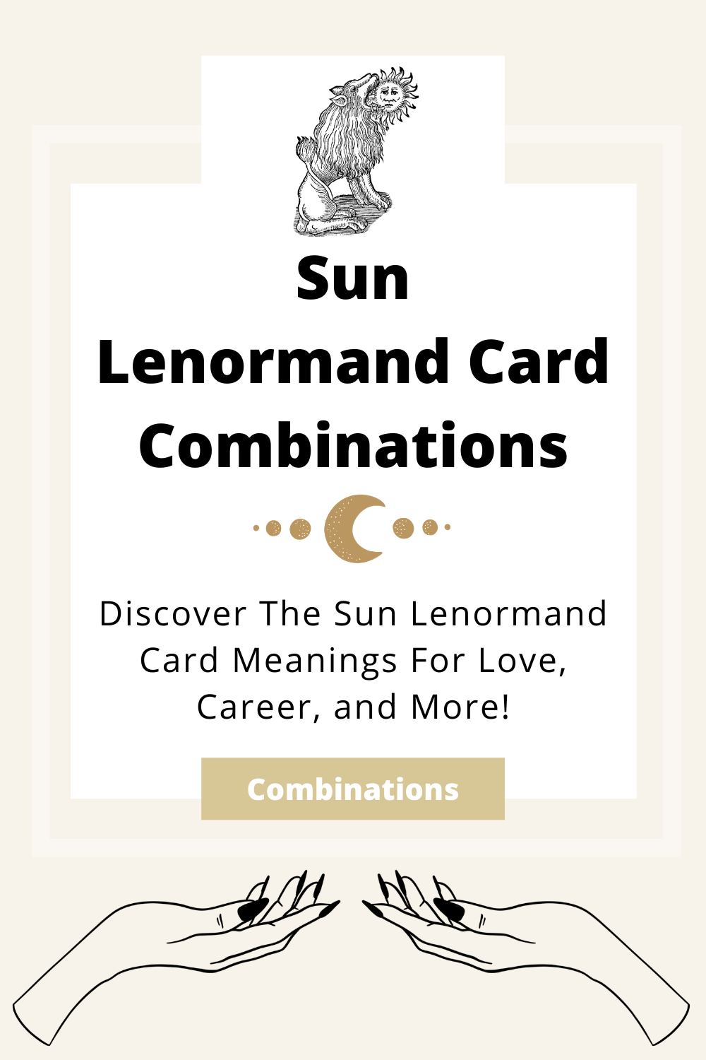 Learn the beginner Sun Lenormand Card combinations for general readings, love, business, career and more! Learn how to combine the Sun card with the Diviners Lenormand deck.