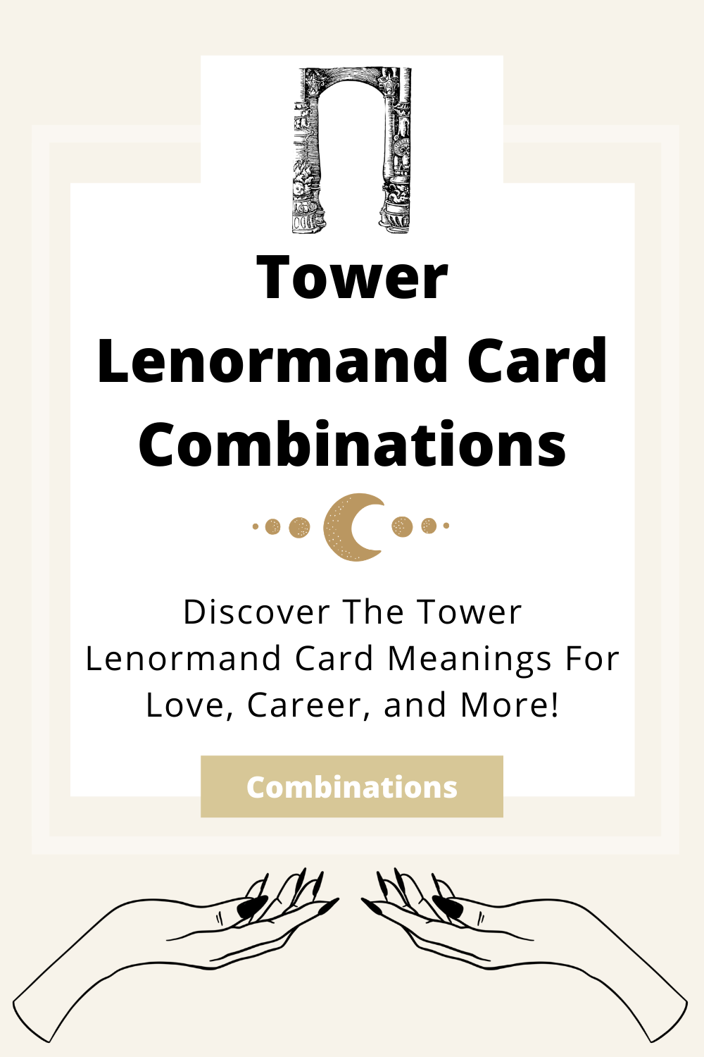 Learn the beginner Tower Lenormand Card combinations for general readings, love, business, career and more! Learn how to combine the Tower card with the Diviners Lenormand deck.