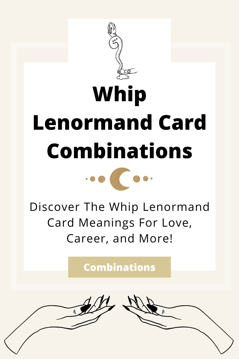 Learn the beginner Whip Lenormand Card combinations for general readings, love, business, career and more! Learn how to combine the Whip card with the Diviners Lenormand deck.