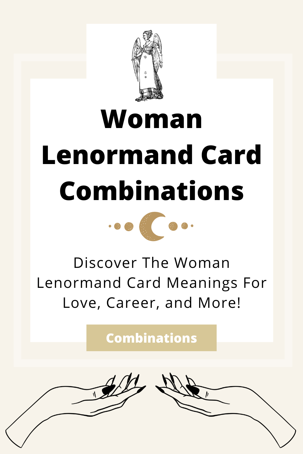 Learn the beginner Woman Lenormand Card combinations for general readings, love, business, career and more! Learn how to combine the Woman card with the Diviners Lenormand deck.