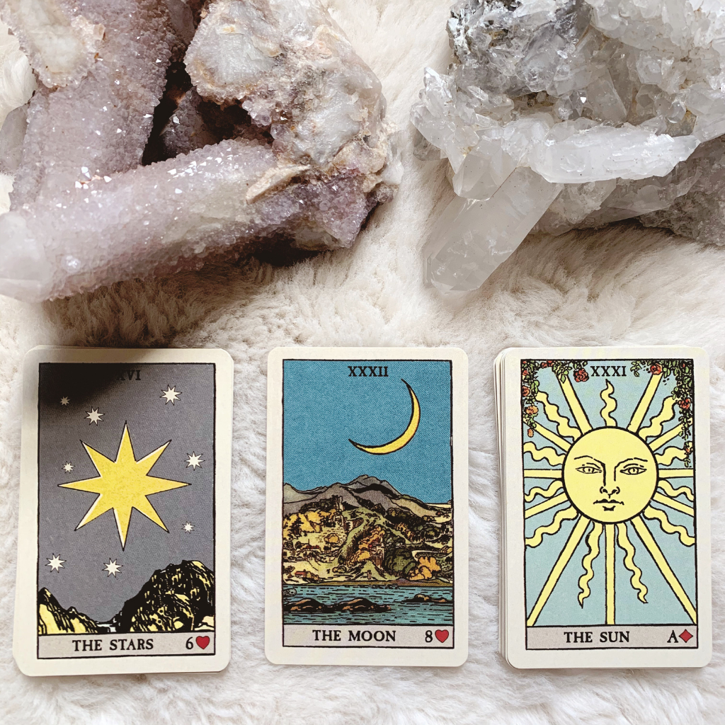 Lenormand Star, Moon and Sun combination