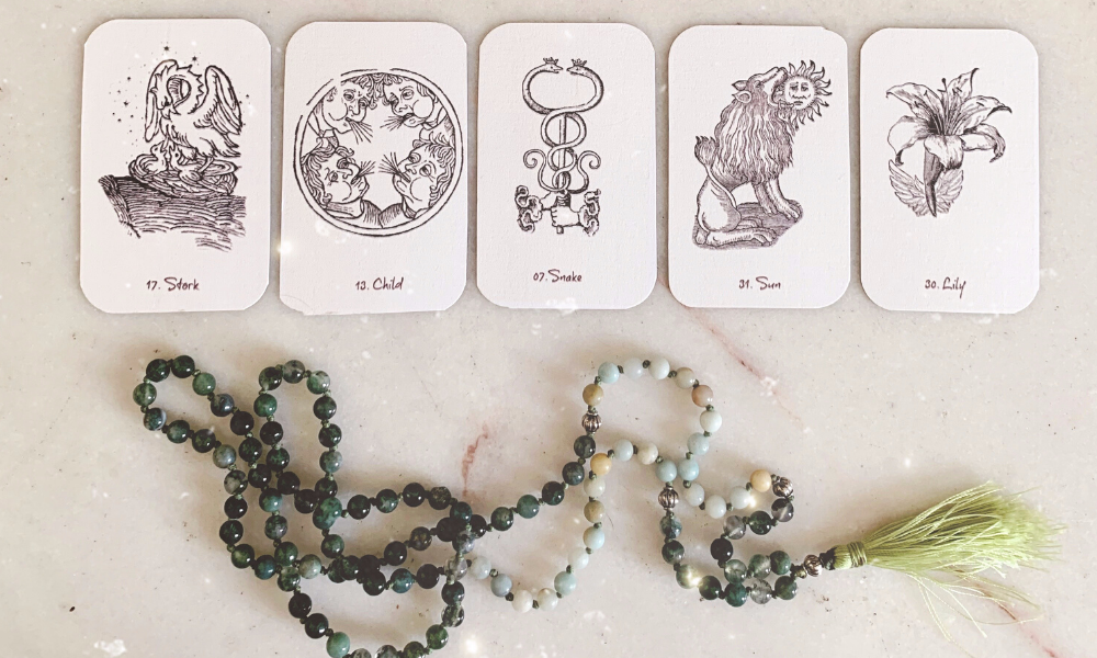 Lenormand String Spreads