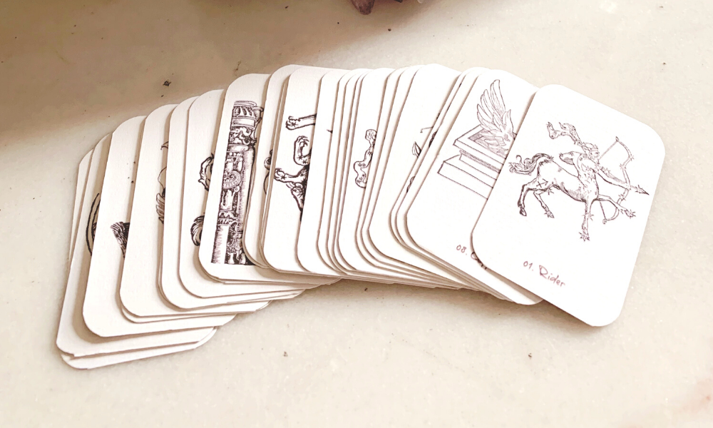 List of Lenormand Cards