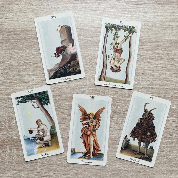 Methods of fortune telling with cards - Tarot Cards