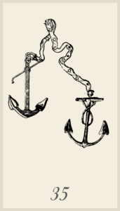 Lenormand Anchor Card Meaning
