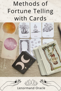 What are all of the different methods of fortune-telling using cards? Would you like to know how you can use cards for divination?