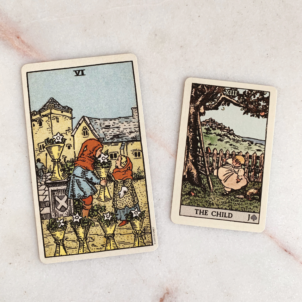 Lenormand Child Meaning - Child Tarot Card