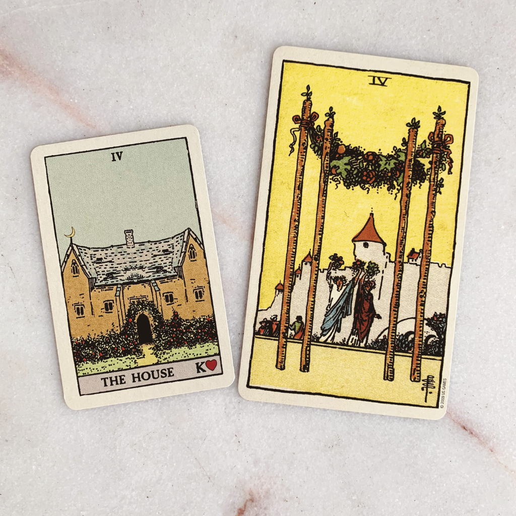 Lenormand Home Meaning - House Tarot Card