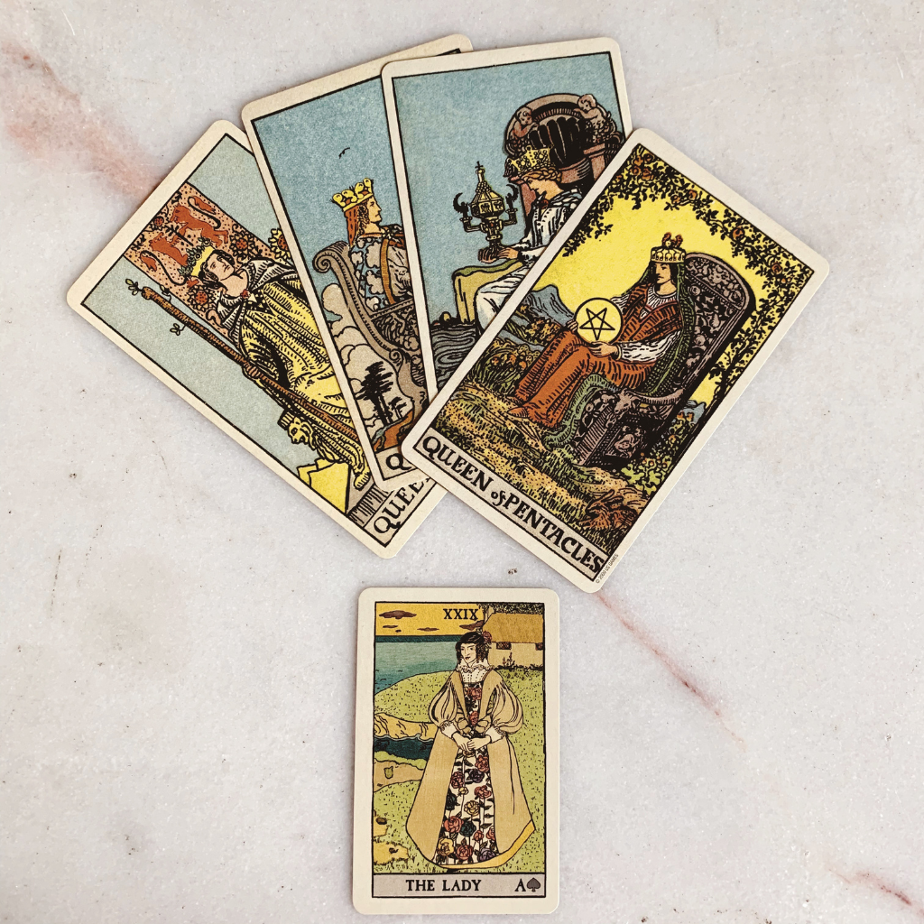 Lenormand Lady Meaning - Woman Tarot Card