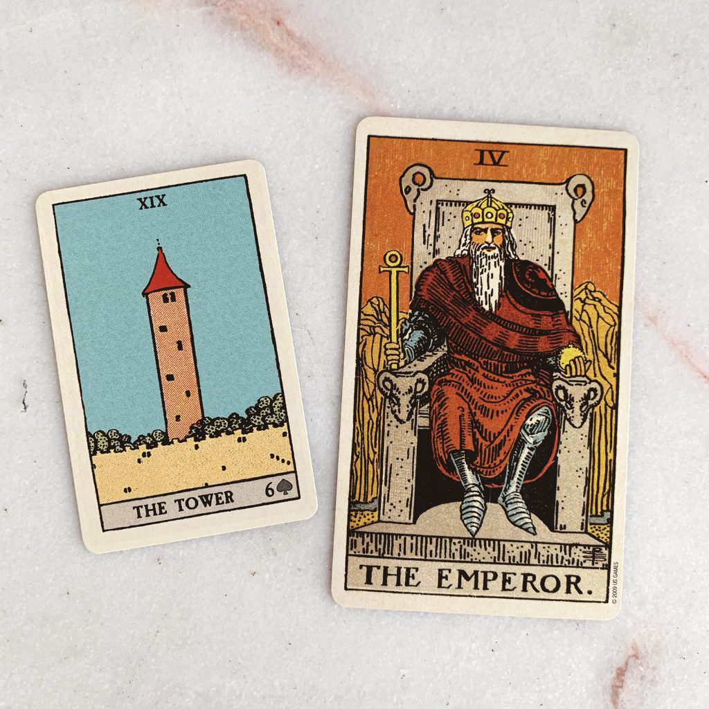 Lenormand Tower Meaning - Tower Tarot Card