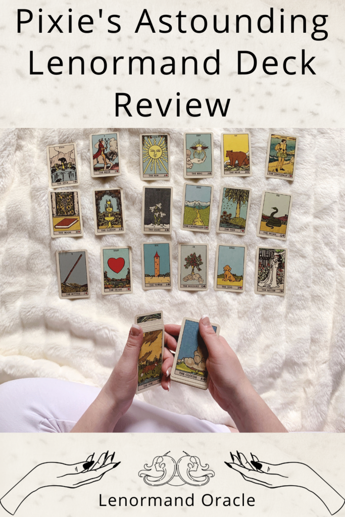 Pixies Astounding Lenormand Deck Review