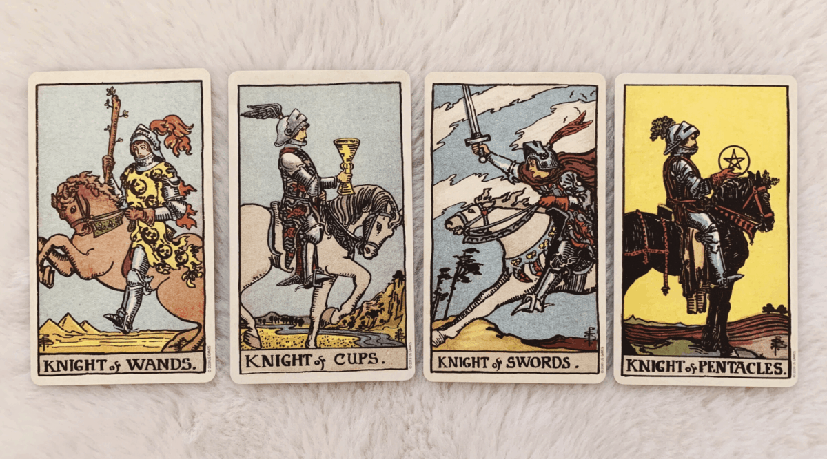 Multiple Knights in a Tarot Reading