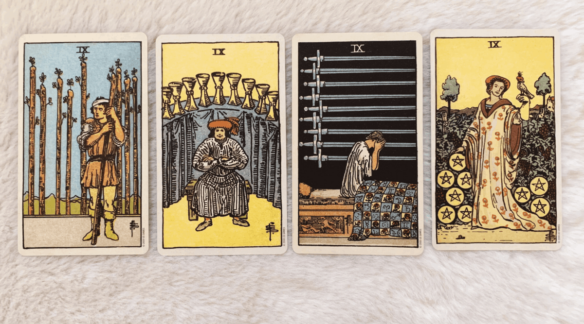 Multiple Nines in a Tarot Reading