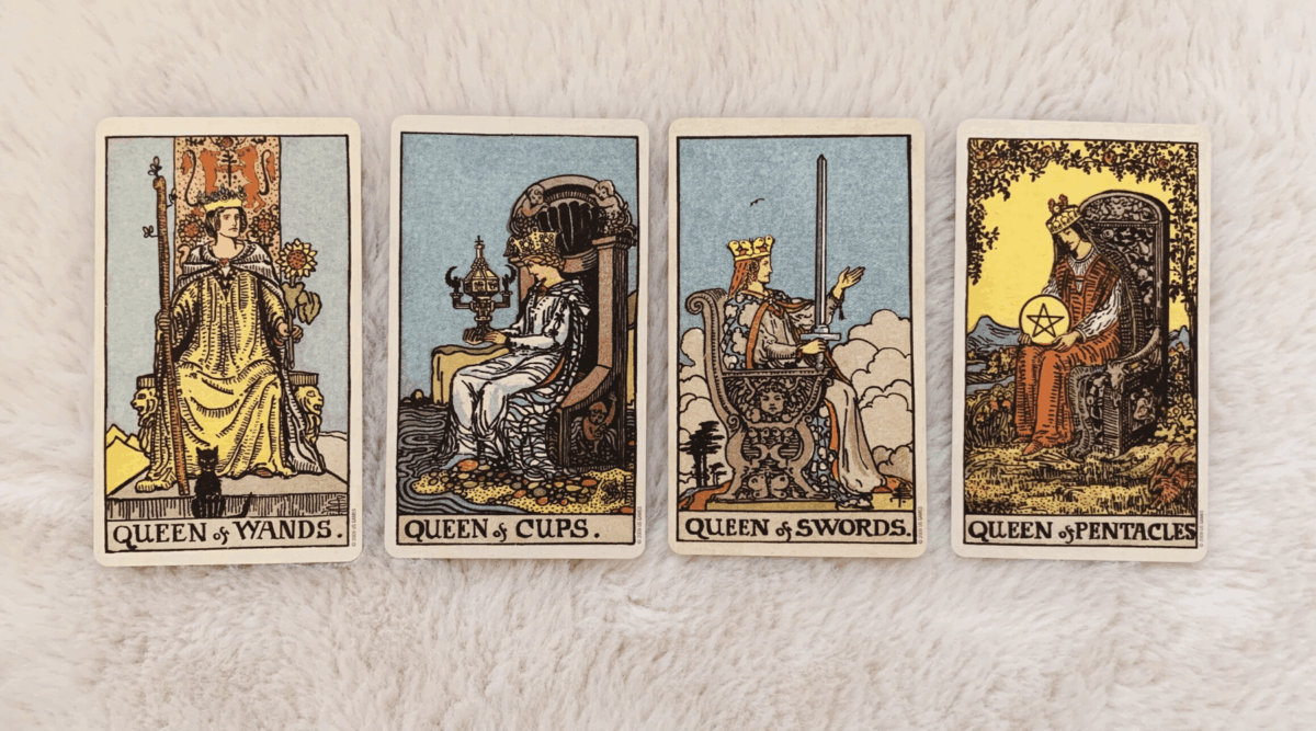 Multiple Queens in a Tarot Reading