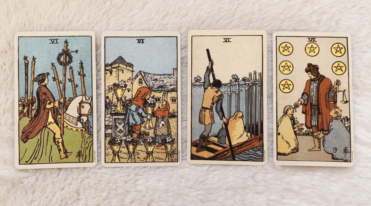 Multiple Sixes in a Tarot Reading