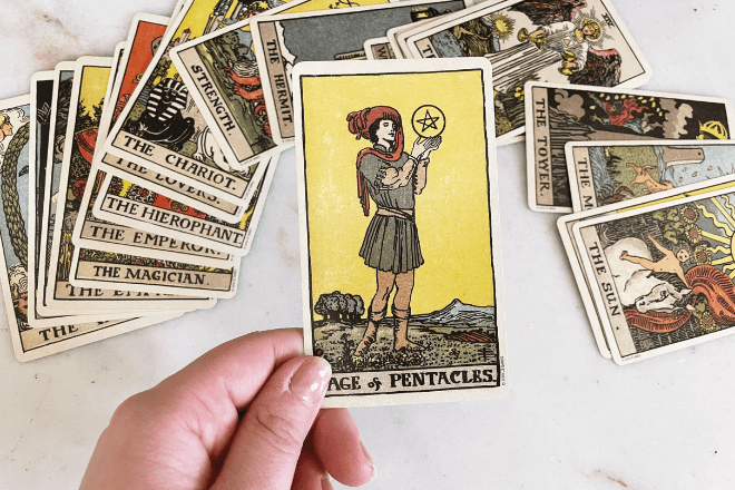 8 Page of Pentacles Tarot Meanings: Love, Outcomes, Feelings & More!