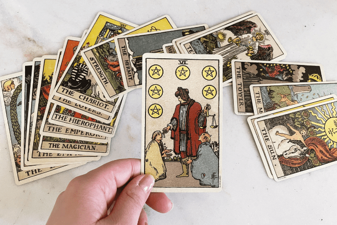 8 Six of Pentacles Tarot Meanings: Love, Outcomes, Feelings & More!