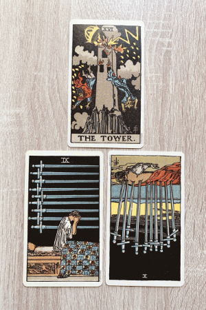 Tarot spread for answering yes or no