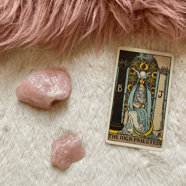 The High Priestess Tarot meaning for relationships, love, outcome, future, ex returning