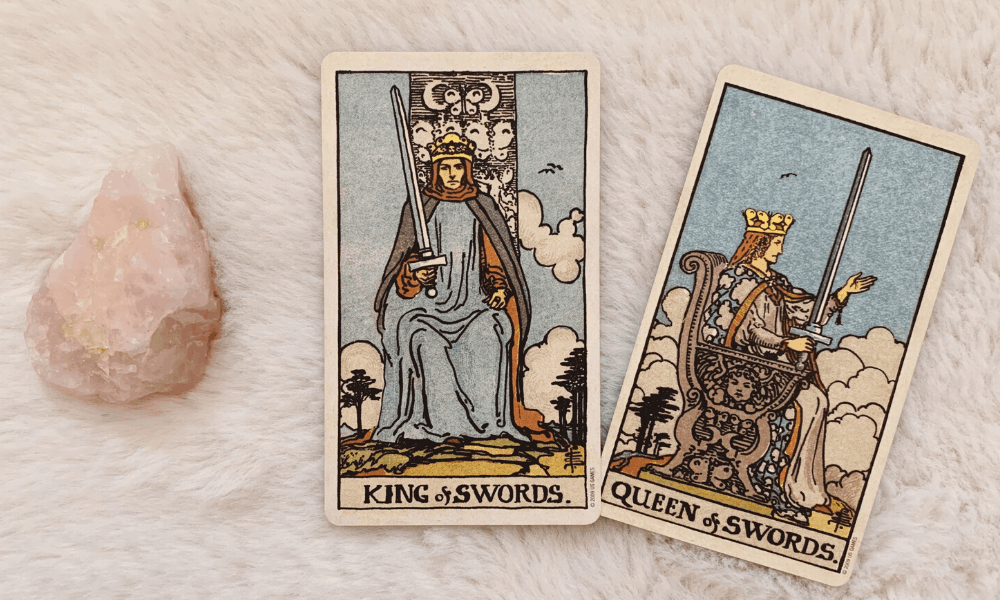 King and Queen of Swords Together
