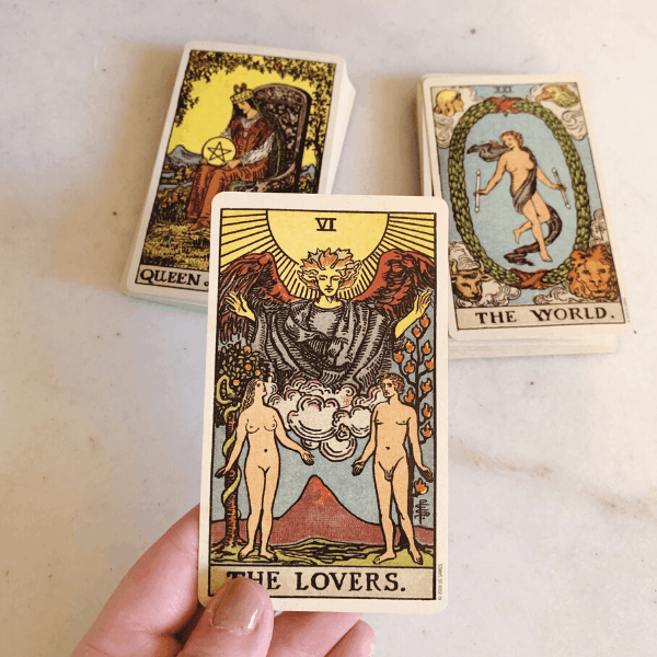 The Lovers Tarot meaning for relationships, love, outcome, future, ex returning