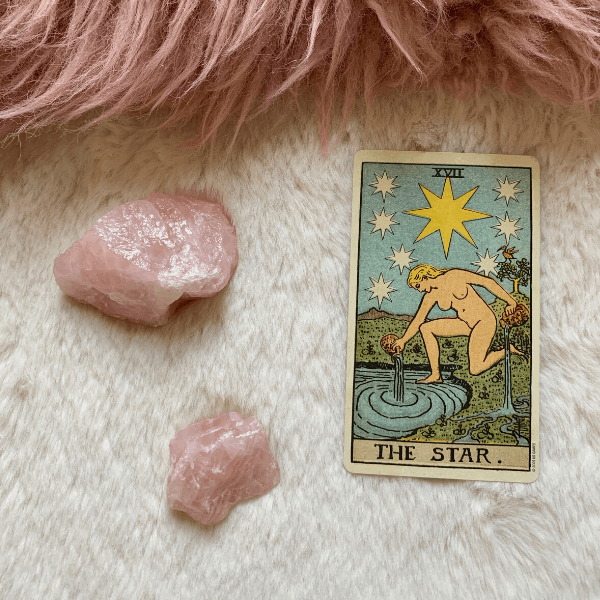 The Star Tarot meaning for relationships, love, outcome, future, ex returning