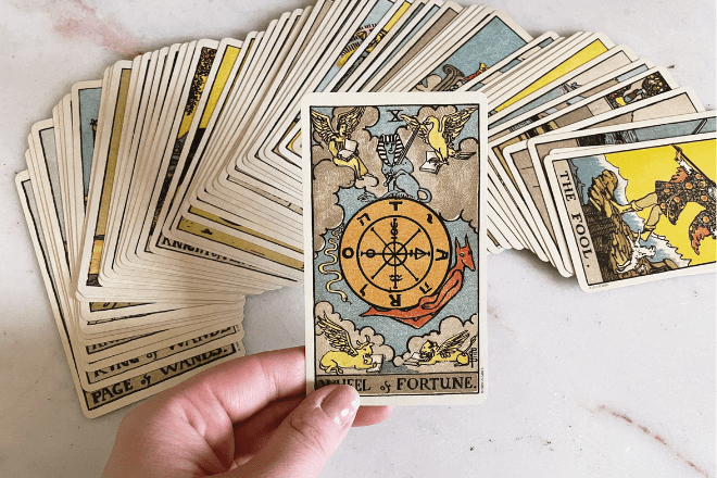 The Wheel of Fortune Tarot Meaning