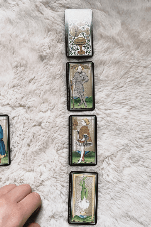 Celtic Cross spread meanings positions