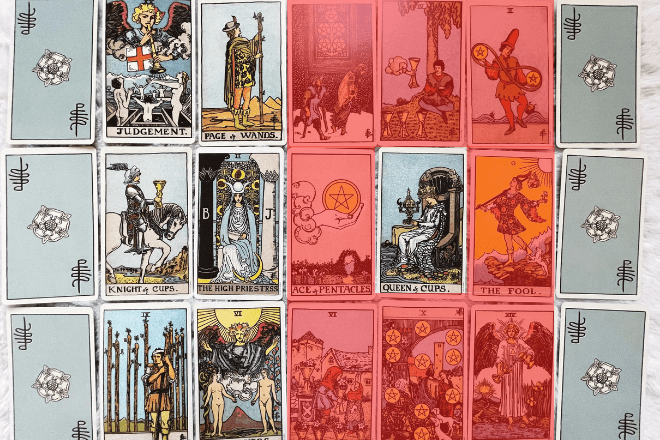 How to use a Tarot signifier