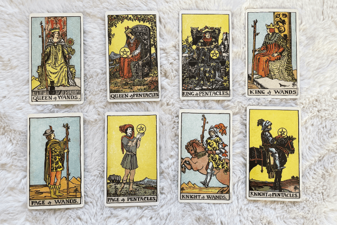 Lots of Court Cards in a Tarot Reading