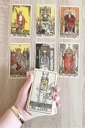 Purchase and buy first Tarot card deck by Rider Waite Smith