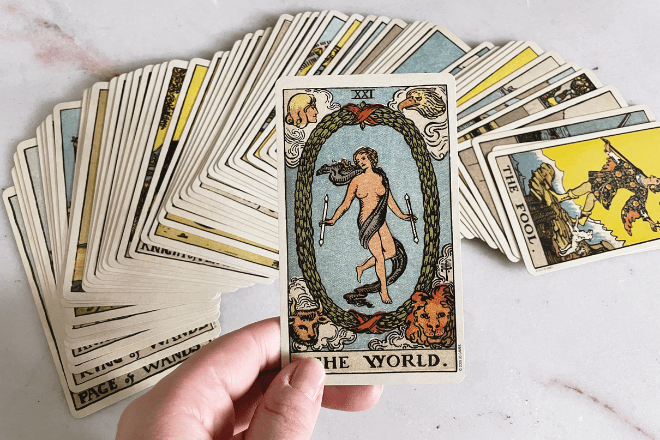 The World Tarot Meaning