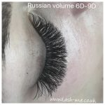 Russian Volume mink eyelash extensionss 6D – 9D
