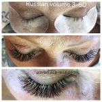 Russian Volume mink eyelash extensions 3D – 6D