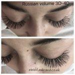 Russian Volume mink eyelash extensions 3D – 4D