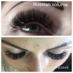 Russian Volume mink eyelash extensions