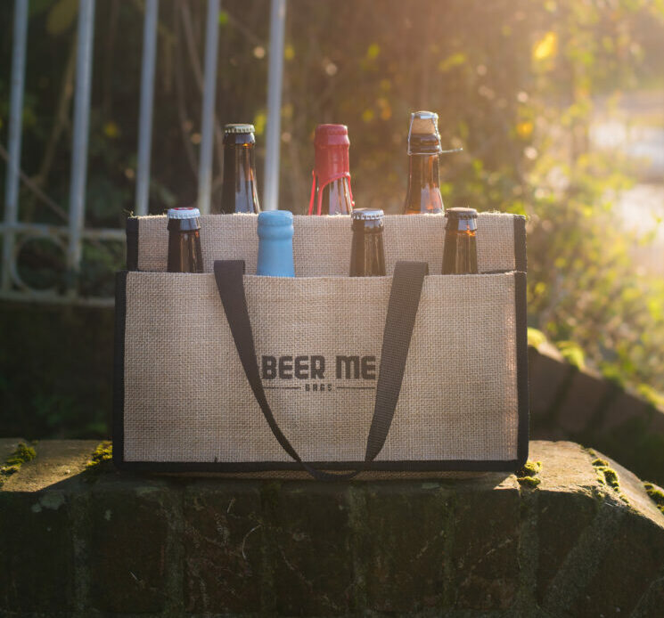 Beer Me Bags makes carrying beer easier and safer!
