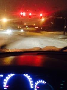 winter driving 2014