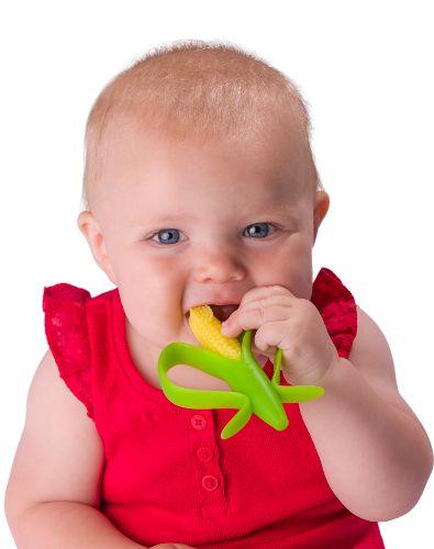 baby corn teether